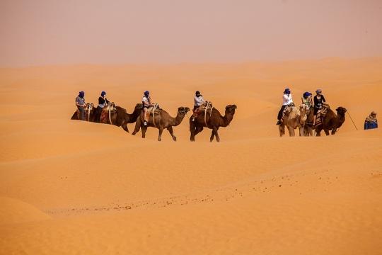 Sahara (foto: Nacionalna kancelarija za turizam Tunisa)