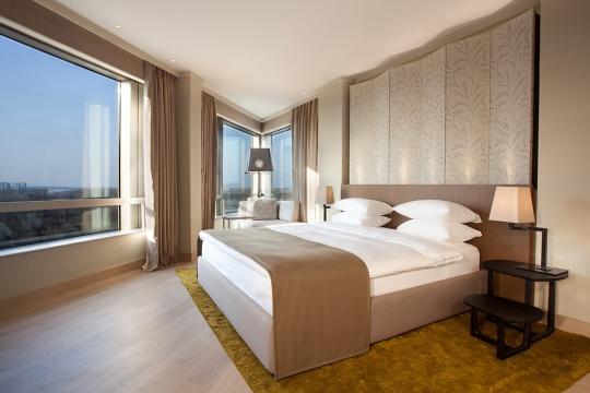 Diplomatski apartman - spavaća soba; foto: