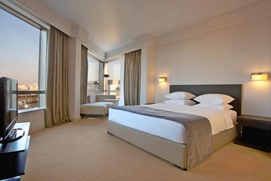 Junior corner apartman - spavaća soba; foto: