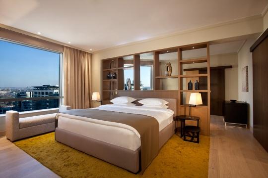 Predsednički apartman - spavaća soba; foto: