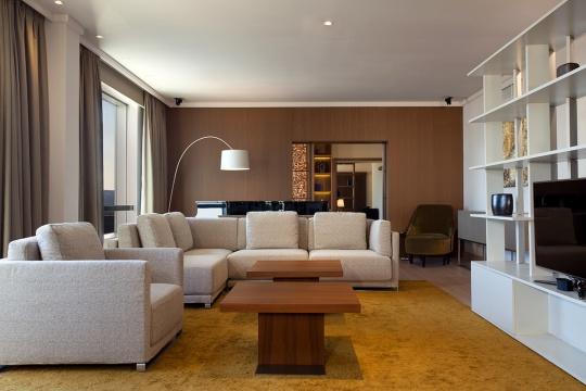 Predsednički apartman - dnevna soba; foto: