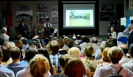 Brojni posetioci uživali su u zanimljivom programu; foto: Muzej afričke umetnosti
