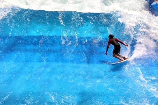 Surfovanje u bazenu; foto: © CityWave